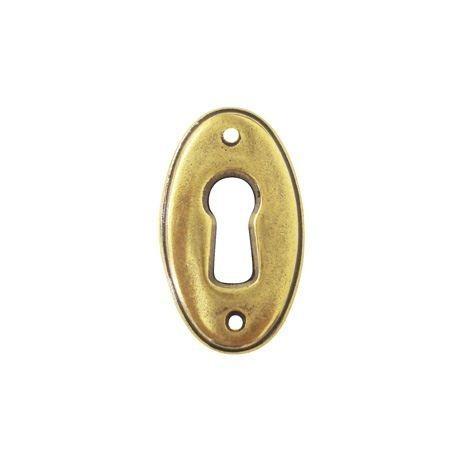 kluczynka w kolorze starego złota